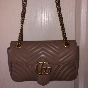 Gucci Marmont Small maltese shoulder bag